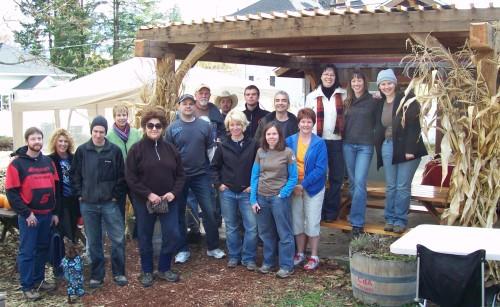Community Roots 2009 Volunteers